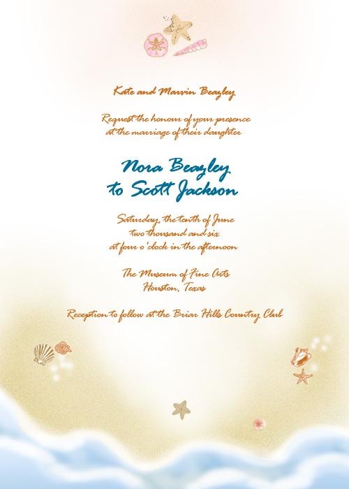cde57dbc6 42 Beautiful Beach Wedding Invitations Showcase for Your Beach ...