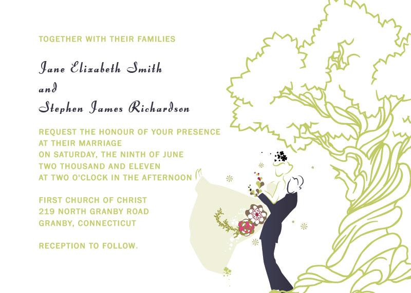 16 modelos lindos de convites de casamento grátis para baixar