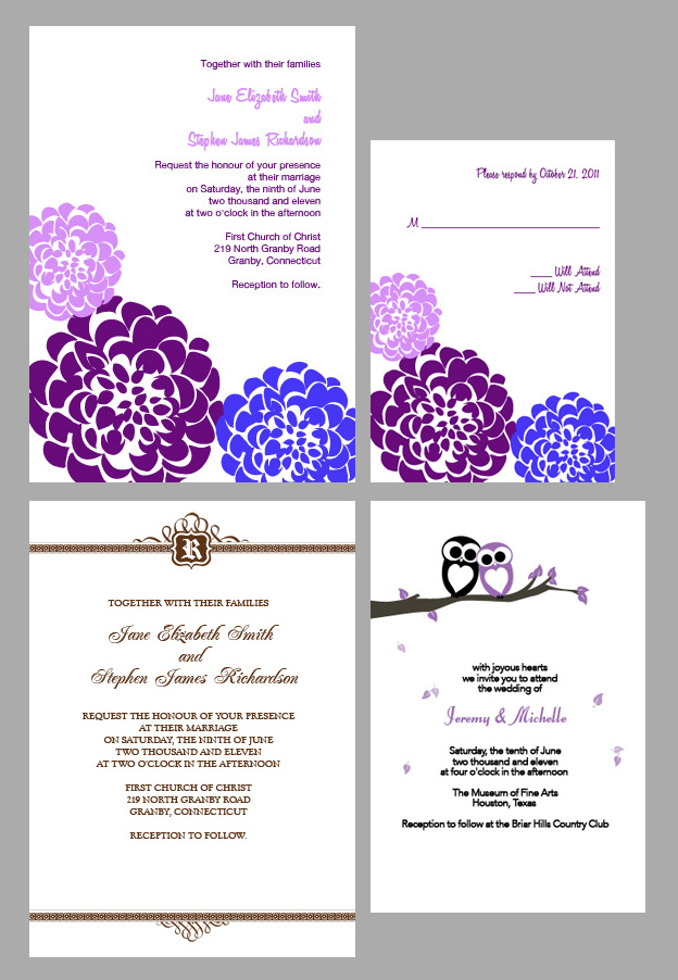 custom wedding invitations wedding invitation templates With free printable customizable wedding invitations
