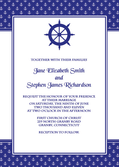Navy Wedding Invitation Template Suggestions Tuesday Navy Wedding