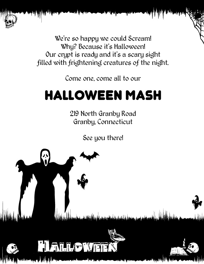 5 Free Halloween Printable Templates ← Wedding Invitation