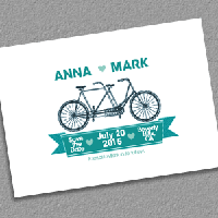 save-the-date-tandembike