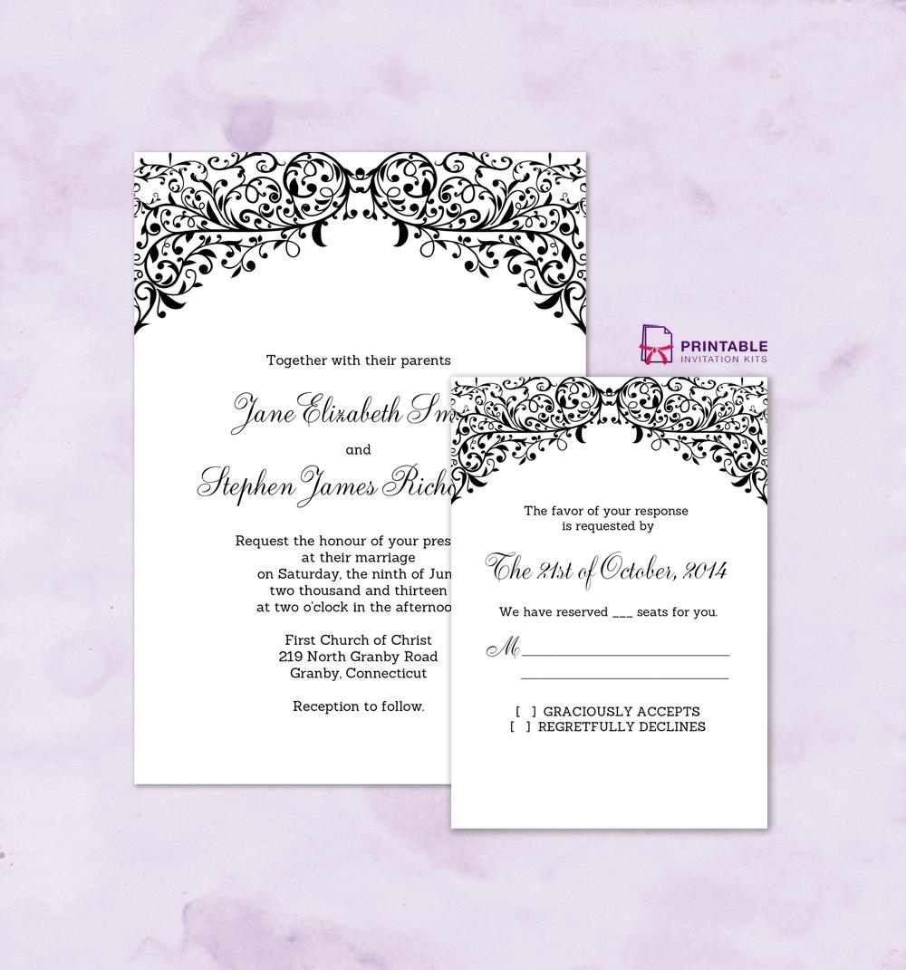 Wedding Invitation Border Designs Free Download ~ Matik for .
