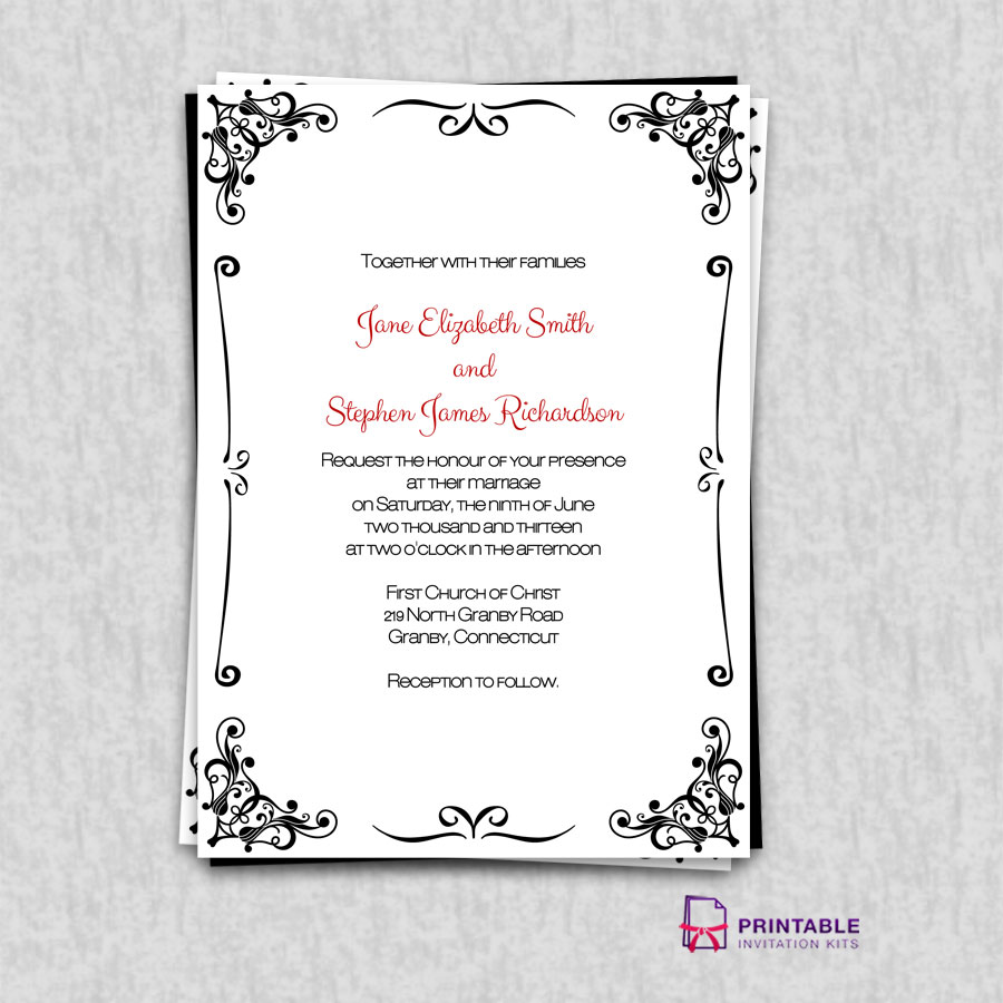 free printable borders for invitations - 28 images - retro border ...