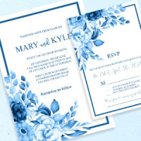 Wedding Invitation Template to Print at Home Vintage
